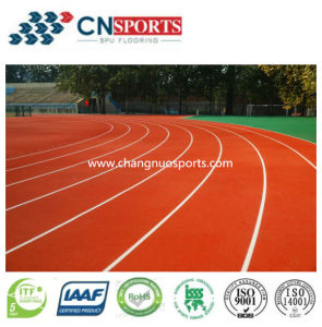 13mm Thickness EPDM Red Rubber Granule Spu Running Track pictures & photos