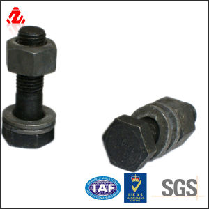 Hex Head Flange Bolts and Nuts pictures & photos