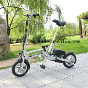 36V 10ah Folding Electric Bicycle with Lithium Ion Battery pictures & photos