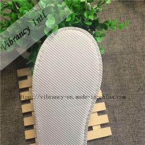 Fashion New Design Terry Towel Cloth Disposable Hotel Slippers, pictures & photos