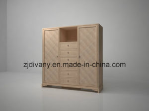 2014 Modern Chinese Wood Wardrobe pictures & photos
