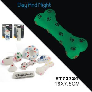 Hot Selling Light Bone Shape Pet Toy (YT73724) pictures & photos