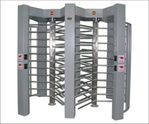 Automatic Full Height Turnstile Painted with Cold Rolling Iron pictures & photos