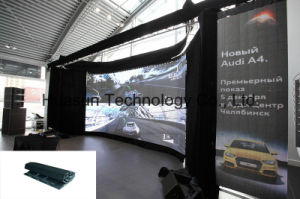 Creative Design Flexible LED Screen 6mm with Magnetic Mounting pictures & photos