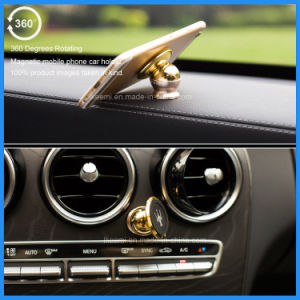 Top Sale 360 Degree Rotation Magnetic Mobile Phone Holder Car Phone Holder pictures & photos