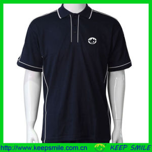 Company Polyester Cotton Uniform Polo Shirts with Embroidery Logo pictures & photos