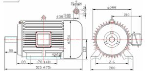 High Efficiency 1500rpm Permanent Magnet Generator 10kw pictures & photos