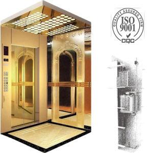 Capacity 1000kg, 1.75m/S Machine Roomless Passenger Elevator pictures & photos