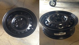 Steel Wheel 17x7 for BMW pictures & photos