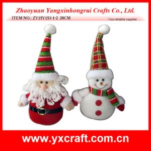 Christmas Decoration (ZY15Y153-1-2) Christmas Plush Toy Art Craft pictures & photos