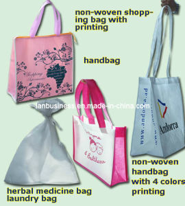 Ly Reusable Nonwoven Bags in Different Colors pictures & photos