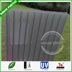UV Coated Roof Sheet Plastic Building Material Cellular Polycarbonate Sheets pictures & photos