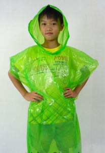 Children Poncho Raincoat