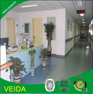 Hospital Project Using PVC Vinyl Flooring