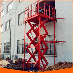 Hydraulic Scissor Freight Elevator pictures & photos