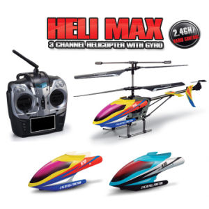 MID Size 2.4G 3CH Metal RC Helicopter Model with Gyro.