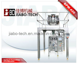 Vffs Granule Packaging Machine for Puffed Food pictures & photos