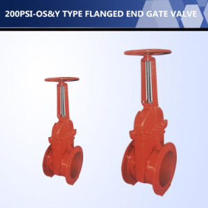 UL FM Approved OS&Y Type Flanged End Gate Valve pictures & photos