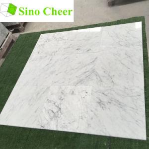 Italian 30X30 Cararra White Marble Tiles Price pictures & photos