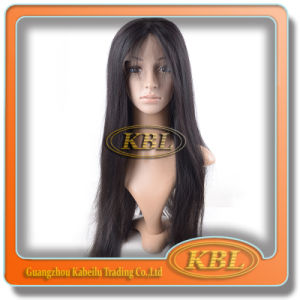 Silk Front Lace Wig of Brazilian Hair Wig pictures & photos