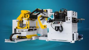 3 in 1 N. C. Level Servo Uncoiler Straightener Feeder Machine (NLF3-F) pictures & photos