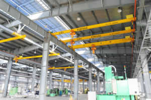 European Type Overhead Crane for Material Handling with Electric Wire Rope Hoist for Heavy Duty pictures & photos