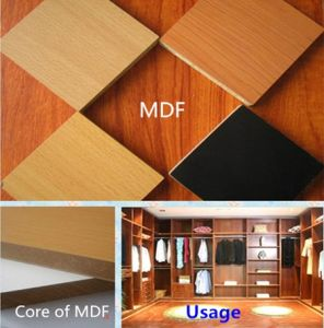 Melamine MDF for Use of Furniture Hardboard pictures & photos