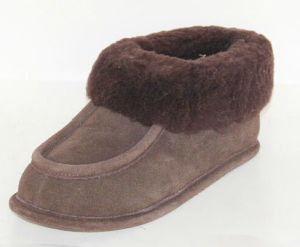 Sheepskin Slipper for Women and Girls MB50023m 43-Stone.