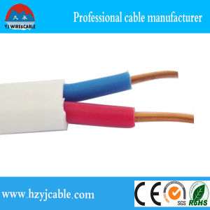 China Factory Directly Sale PVC Flat Electric Copper Core PVC Power Cable/Shenzhen/Flat Cable pictures & photos