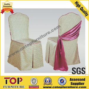 Decorative Self Ties Satin Chair Covers pictures & photos