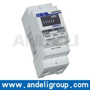 DIN-Rail Kwh Meter Watt Hour Meter (ADM65S) pictures & photos