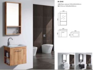 Deluxe Mirror Cabinet Bathroom Vanity Cabinet pictures & photos