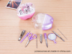 9 PCS Stainless Steel Manicure Set pictures & photos
