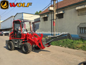 Ce Approved Wolf Wl80 Zl08 Mini Wheel Loader with Ce ISO pictures & photos