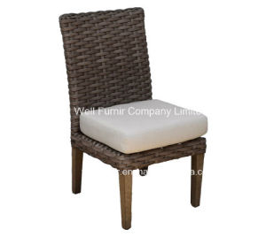 Contempo Armless Chair, Patio Dining Set, PE Rattan pictures & photos