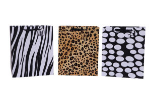 Luxury Shopping Leopard Paper Bags pictures & photos