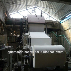 Small Model Paper Tissue Jumbo Roll Making Machine pictures & photos