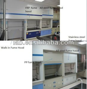 2015 High Quality All Steel Lab Fume Hood pictures & photos