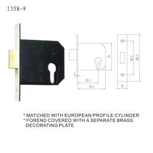 British UK Heavy Duty Door Lock Body Mortise Lock pictures & photos