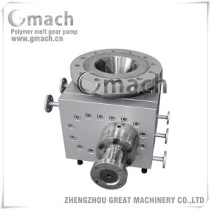 Large Flow Rate Polymer Melt Gear Pump for Reactor as Discharge Pump pictures & photos