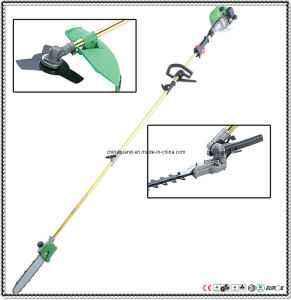 GS/EMC/CE Approved 26.3CC 1800mm Straight Golden Color Pole Brush Cutter (XY-T260A)