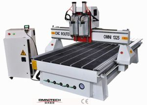 1325 Woodowrking CNC Router with Two Spindles