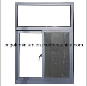 Aluminum Sliding Window with Aluminium Shutter pictures & photos