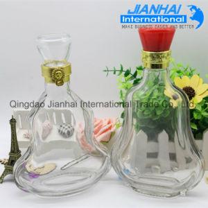Wholesale Cheap Unique Shape Glass Wine Bottle pictures & photos