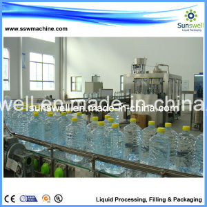 500bph Big Bottle 5-10L Plasitc Bottle Water Filling Machine/Pure&Mineral Water Bottling System pictures & photos