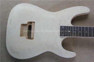 Hanhai/Esp Style Electric Guitar Kit with Flame Maple Veneer pictures & photos