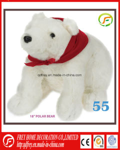 Ce Plush Ice Bear Toy for Chrismtas Gift pictures & photos