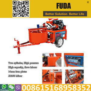 Hydraform M7d Mobile Block Making Machine in Mozambique pictures & photos