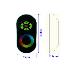 DC12-24V Wireless LED RGB Strip Light Remote Controller pictures & photos