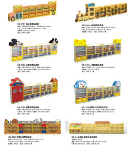 Mickey Canton Wooden Cabinet for School Kids Wooden Role Play M11-08402 pictures & photos